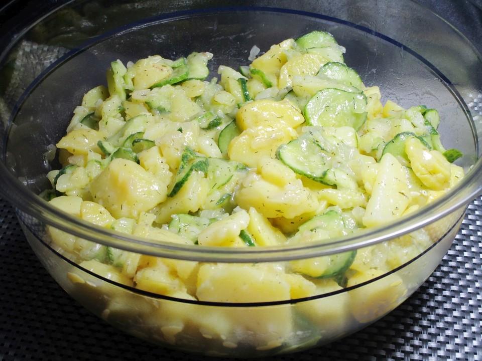 Kartoffelsalat Mit Essig öl Und Gurke Von Klausi60 Chefkoch