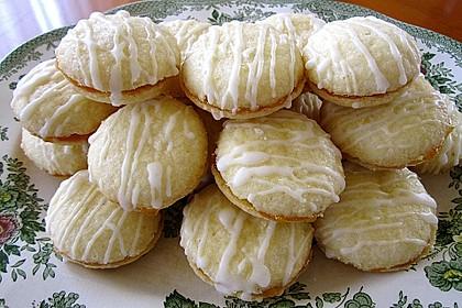 Zitronenplätzchen aus Frankreich