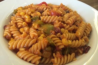 Tex-Mex One Pot Pasta 4