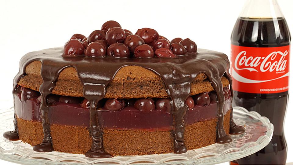 Cola Torte Mit Kirschen Von Evas Backparty Chefkoch De