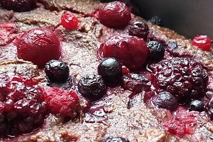Schokoladenkuchen - glutenfrei, ohne Zuckerzusatz 14