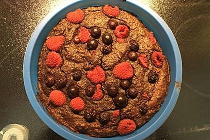 Schokoladenkuchen - glutenfrei, ohne Zuckerzusatz 12