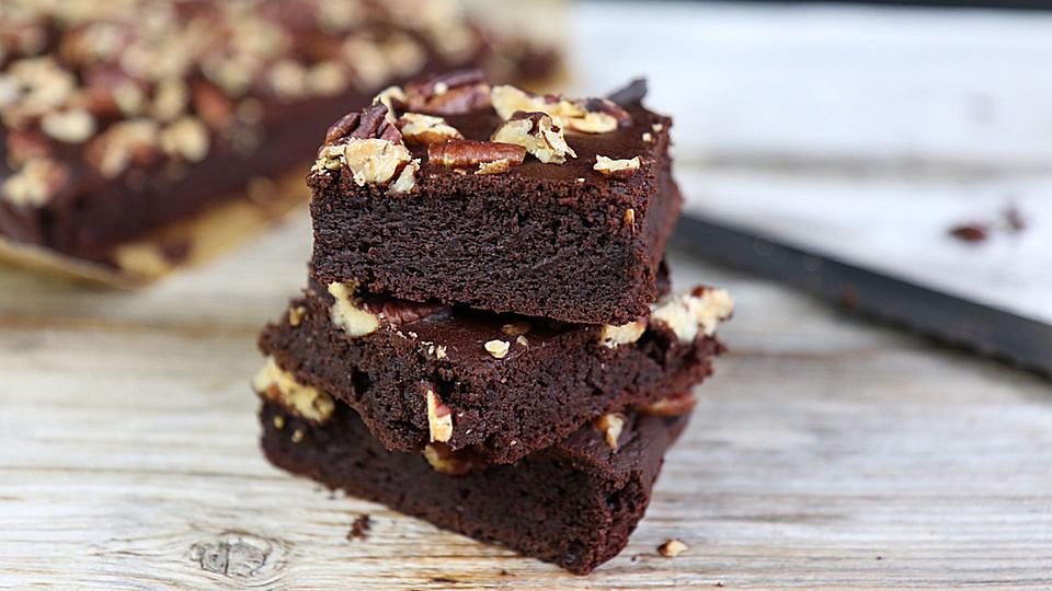 Gesunde Brownies Glutenfrei Zuckerfrei Von Mrsflury Chefkoch De