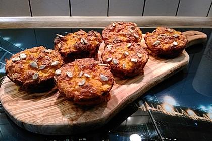 Süßkartoffel-Muffins mit Parmesan und Chili 2