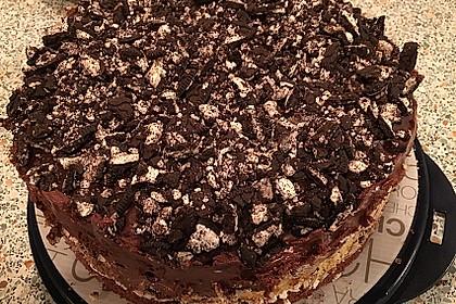 Schoko-Mascarpone-Torte Oreo-Style