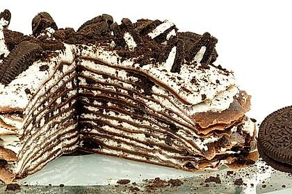 Oreo-Crêpe-Torte 1