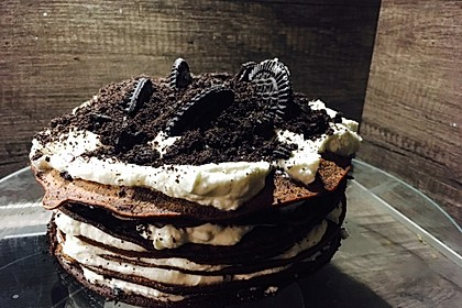 Oreo-Crêpe-Torte 3