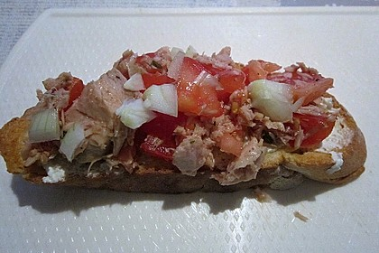 Thunfisch-Bruschetta à la Heike
