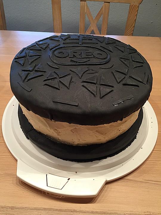 Oreo Fondant Torte Von Julchen1810 Chefkoch De