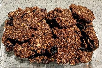 Hafer-Bananen-Cookies (Bild)