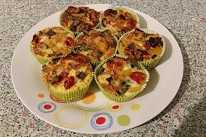 Herzhafte Low Carb Muffins 7
