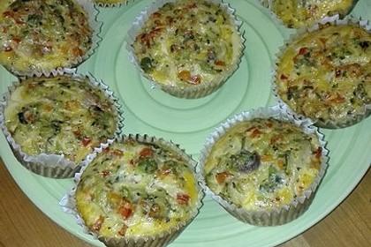 Herzhafte Low Carb Muffins 4