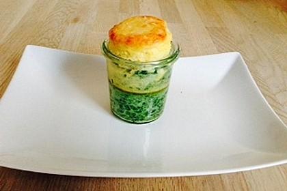 Rahmspinat-Kartoffel-Soufflé