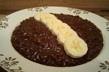 Schoko-Porridge 1