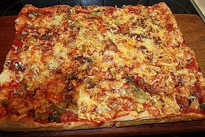 Pizza Pak Choi