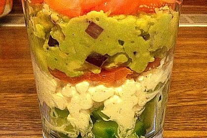 Lachstürmchen mit Guacamole 1