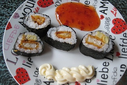 Fish and Chips Sushi 1
