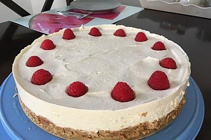 Aprikosen-Cheesecake ohne Backen (Bild)