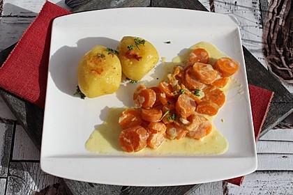 Petersilienkartoffeln in Albaöl gebraten