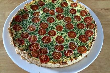 Bärlauch-Tomaten-Quiche 1