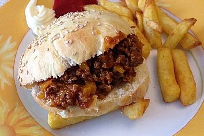 Sloppy Joes – Amerikanische Hackfleisch-Burger 10