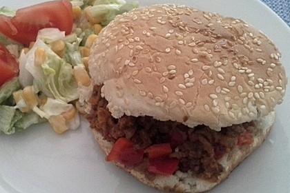 Sloppy Joes – Amerikanische Hackfleisch-Burger 13