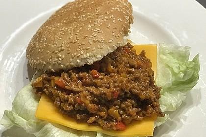Sloppy Joes – Amerikanische Hackfleisch-Burger 4