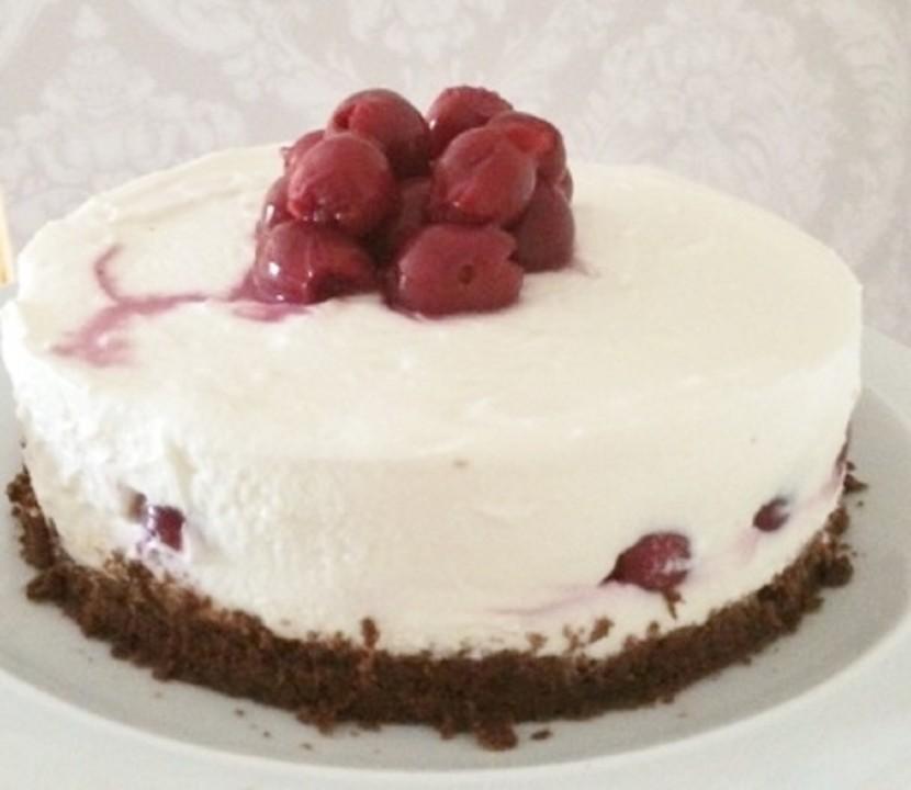 Kleine No Bake Kuhlschrank Torte Mit Kuchenresten Von Dersteffinus