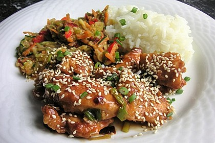 Scharfes Huhn - Chinesisch 1
