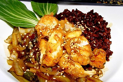 Scharfes Huhn - Chinesisch