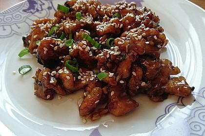 Scharfes Huhn - Chinesisch 4