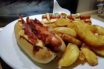Hotdog-Auflauf 1