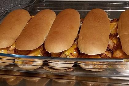 Hotdog-Auflauf