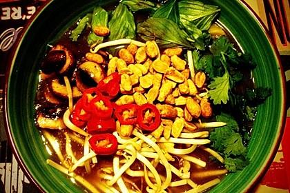 Schnelle vegane Pho-Suppe 1