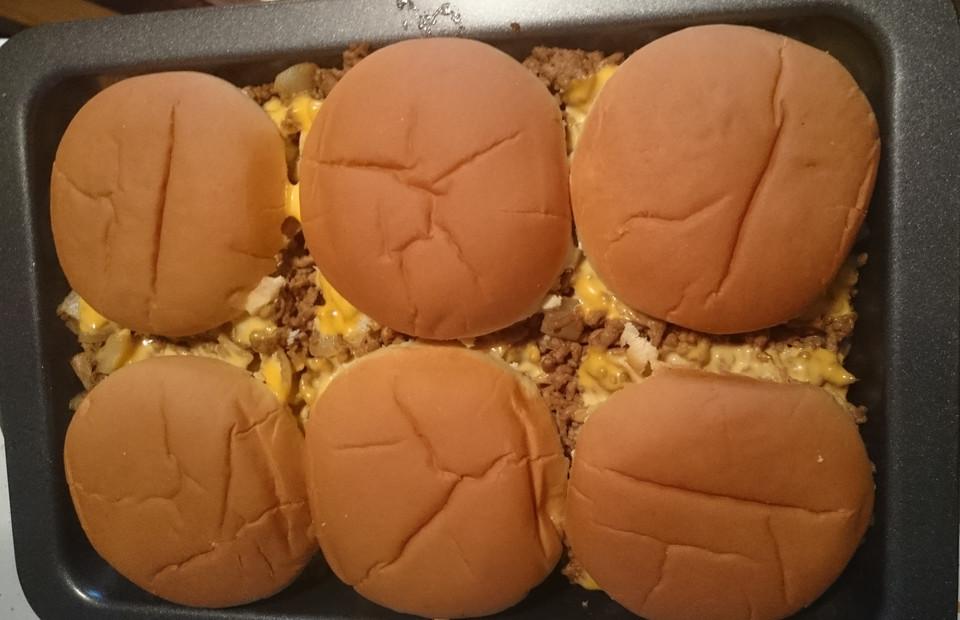 Käse Burger Auflauf Von Phoenixbosszu Chefkoch