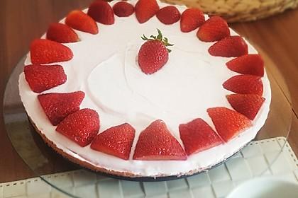 Erdbeer-Blechkuchen mit Cream Cheese Frosting 2