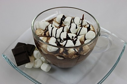 Hot Chocolate mit Marshmallows