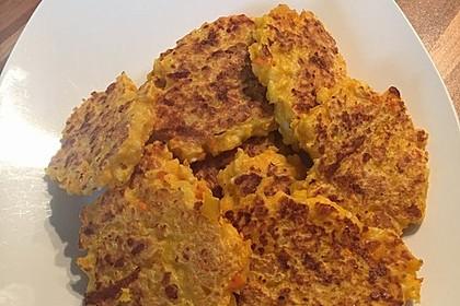 Pumpkin Patties - würzige Kürbis-Puffer 9