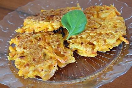 Pumpkin Patties - würzige Kürbis-Puffer 4
