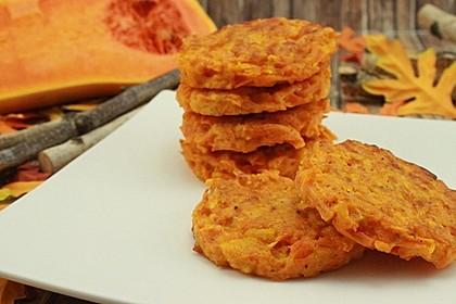 Pumpkin Patties - würzige Kürbis-Puffer 1