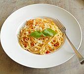 Pfannen-Spaghetti (Bild)