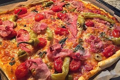 American Pizza Teig selber machen 2