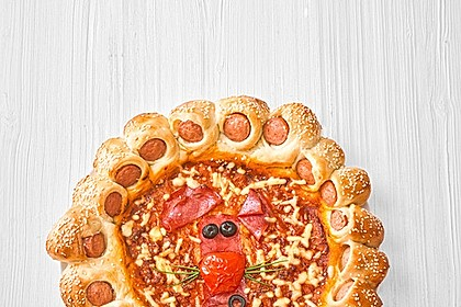 American Pizza Teig selber machen