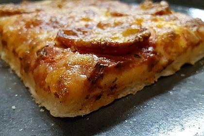 American Pizza Teig selber machen 4