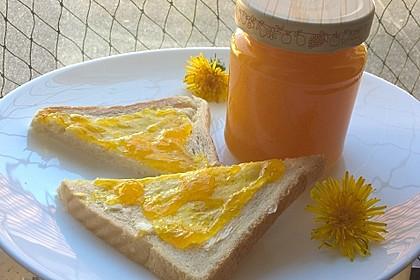 Orangen-Löwenzahn-Marmelade