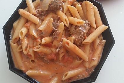 One Pot Pasta mit Hackfleisch 3
