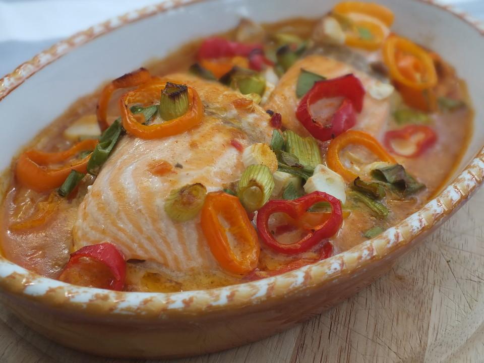 Michis Blitz Ofen Lachs Von Goldlilly Chefkoch