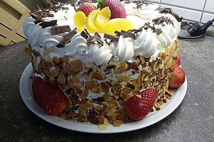 Pfirsich Maracuja Torte à la Lisa
