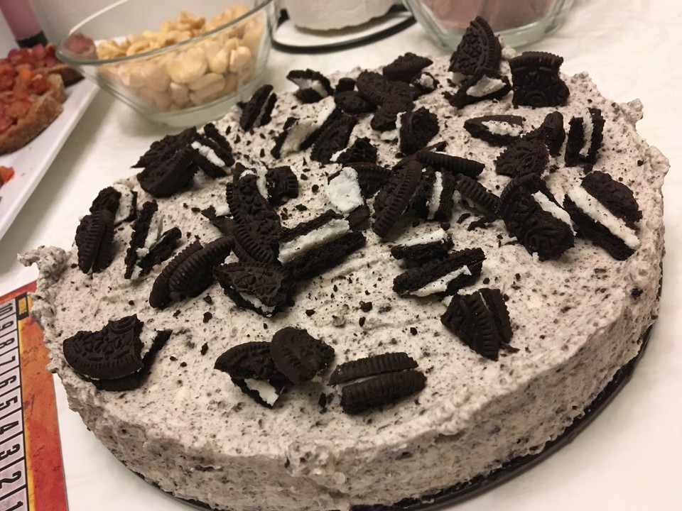 Einfacher Oreo Kuchen Ohne Backen Beste Von Oreo Kuchen Ohne Backen