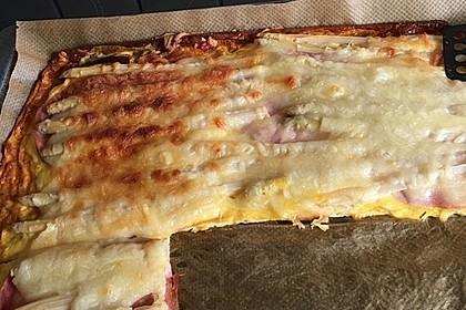 Low-Carb Spargelpizza